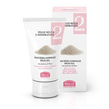 Picture of Facial Mask Gommage Delicate for face and neck Linea Viso 2 pelle secca e disidratata Helan 50 ml