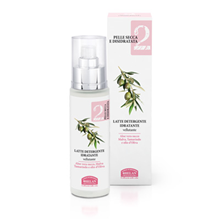 Picture of Moisturizing Cleansing Milk for face and neck Linea Viso 2 pelle secca e disidratata Helan 50 ml - Kopie